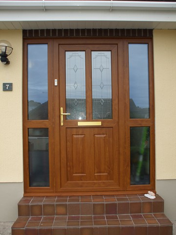 ... light oak door ... & Gardinia - PVCu Windows Doors and Conservatories - pvcpvcuupvc ...