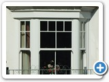 PVCu sliding sash bay windows